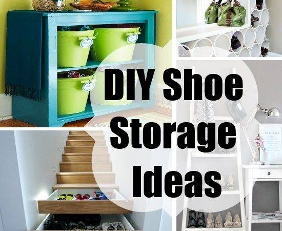 Diy Shoe Storage Ideas Your Home Things