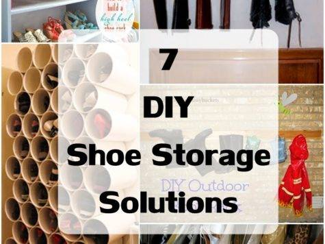 Diy Shoe Storage Solutions Craft Projects