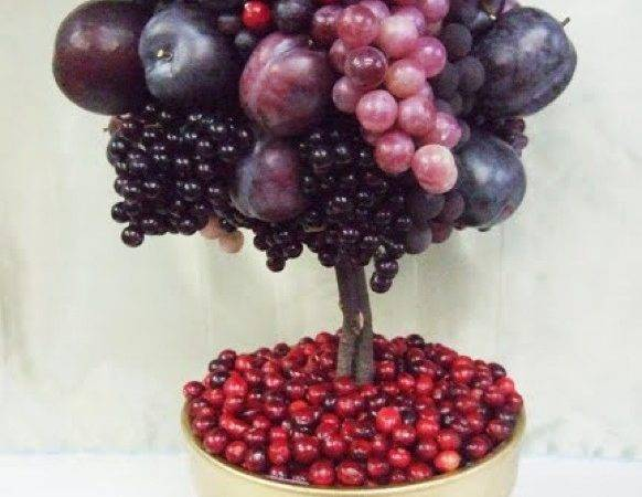 Diy Thanksgiving Fruit Topiary Prestonbailey