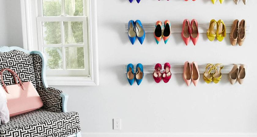 Diy Wall Mounted Shoe Rack Lowe Canada