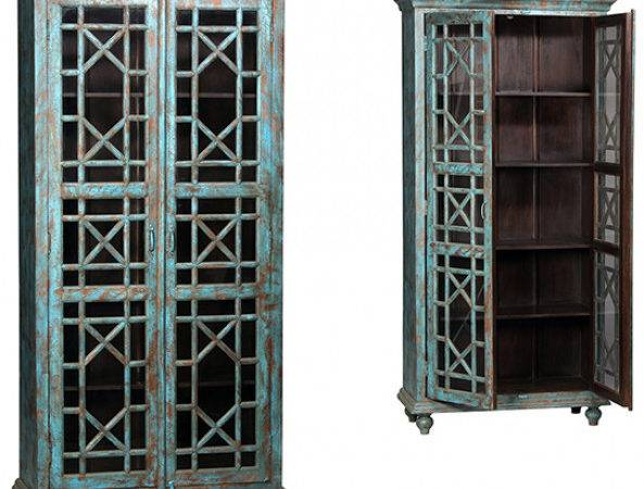 Dovetail Hidalgo Cabinet Display Cabinets Dining Room