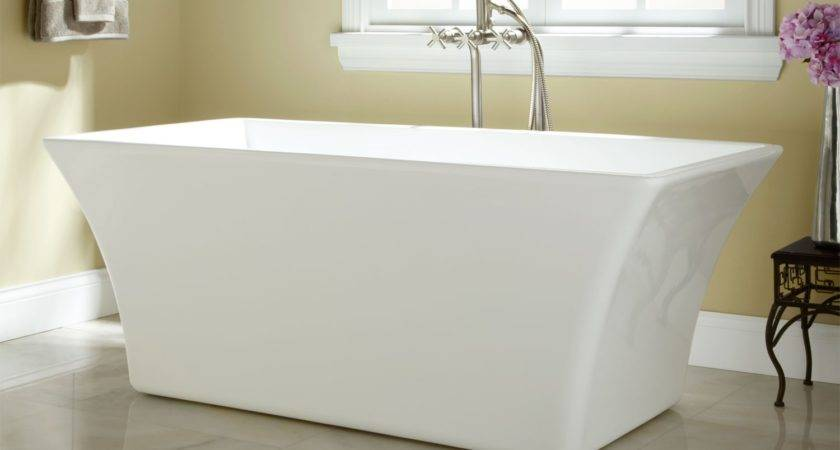 Draque Acrylic Freestanding Tub Bathroom