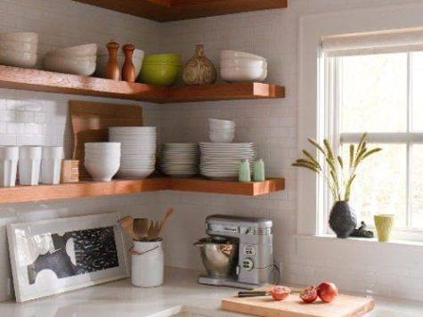 Dream Home Open Shelving Ideas Kitchen
