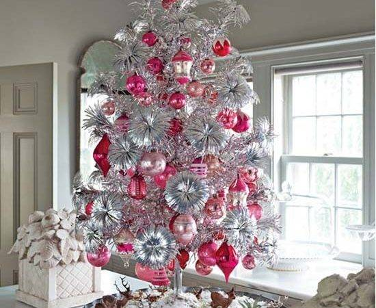 Dreaming Pink Silver Christmas Lifes