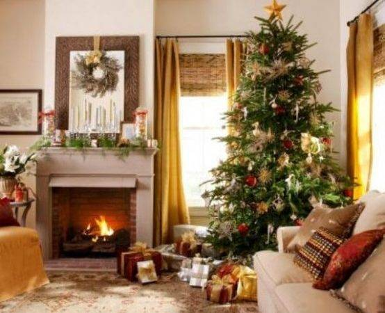 Dreamy Christmas Living Room Cor Ideas Digsdigs
