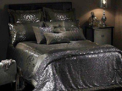 Dress Bedding Sheets Sequins House Details
