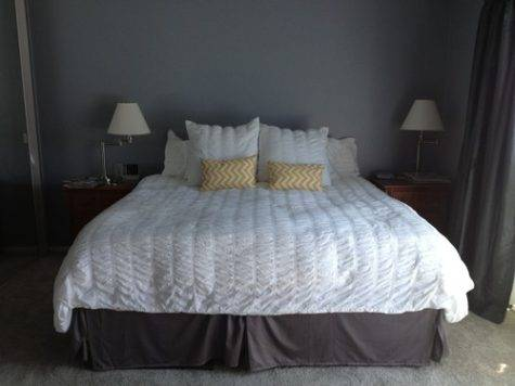 Dress Master Bedroom Gray Yellow