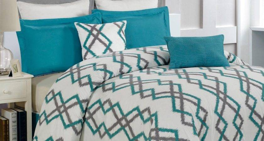 Duck River Textile Teal Gray Kelsey Overfilled Quilted