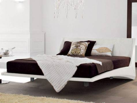 Dylan Bed Floating Cattelan Italia