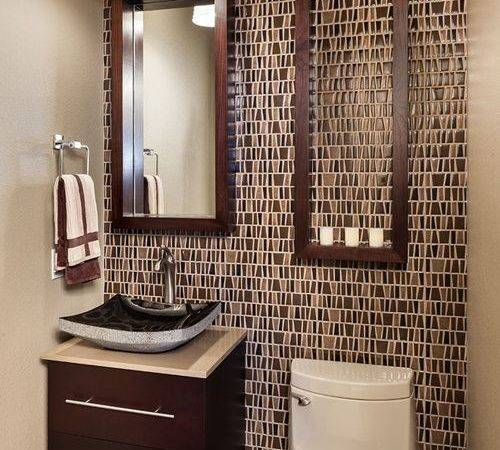 Earth Tone Bathroom Accents Houzz