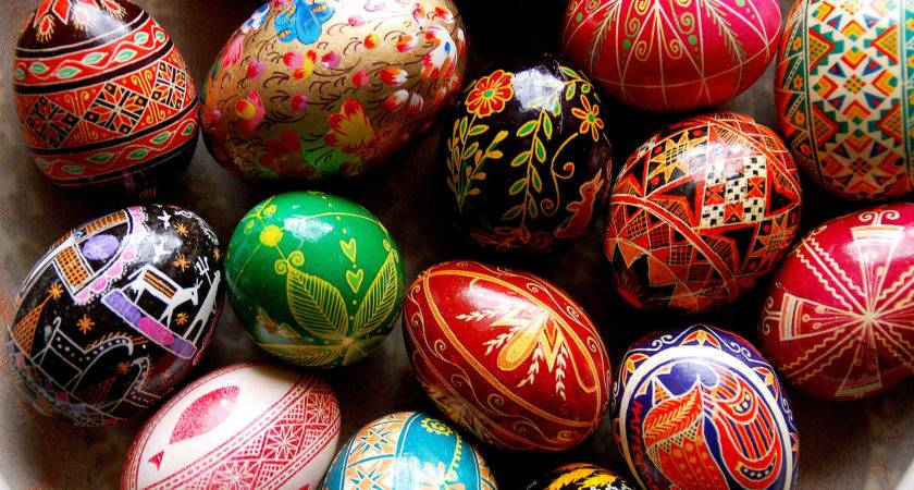 Easter Egg Art Hatched Ancient Tradition
