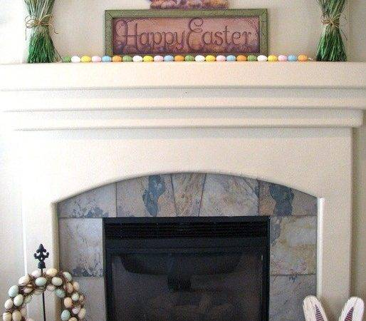 Easter Fireplace Mantel Decorations Godfather Style