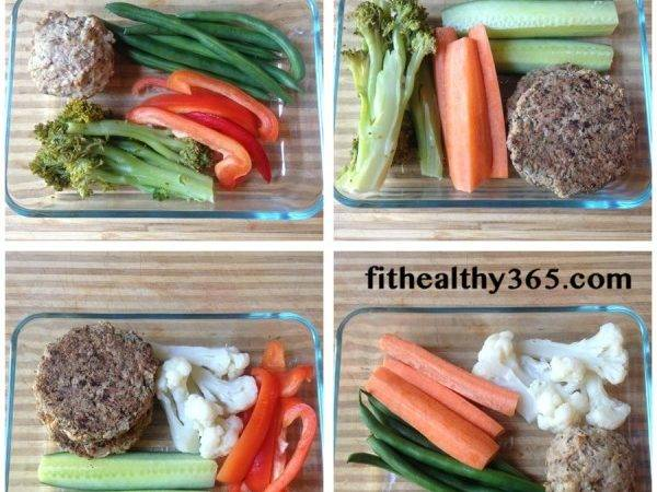 Easy Adult Lunches Salad Jar Mix Match Fit