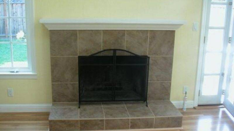Easy Brick Fireplace Makeovers Design Ideas House
