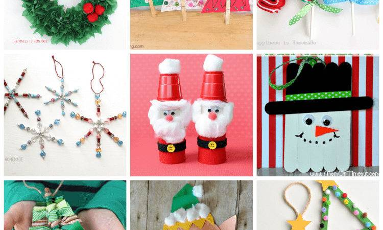 Easy Christmas Kids Crafts Anyone Can Make