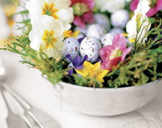 Easy Easter Centerpieces Table Settings Spring