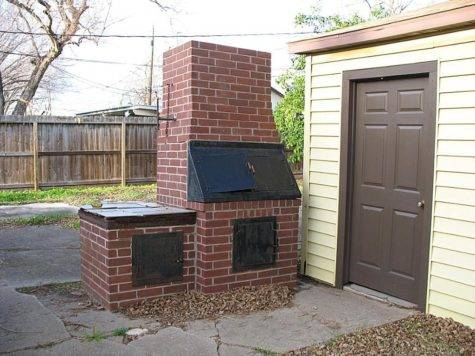 Easy Make Brick Bbq Pit Your Own Fire