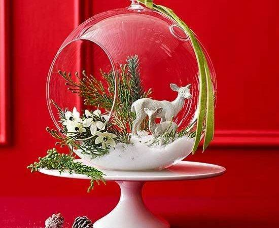 Easy Make Christmas Centerpieces Better Homes Gardens