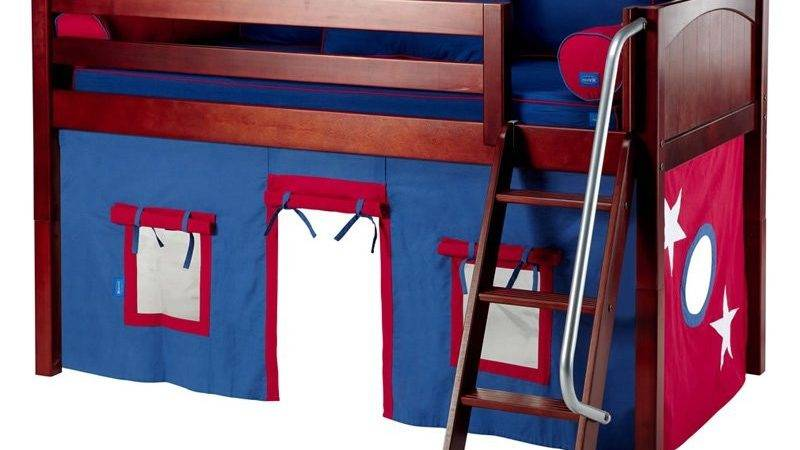 Easy Rider Boy Panel Tent Bed Bunk Beds Loft
