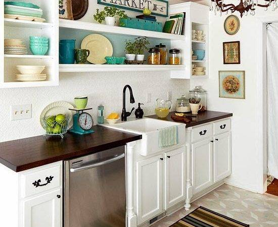 Easy Tips Small Kitchen Decorating Ideas