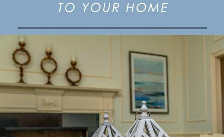 Easy Ways Add Character Your Home