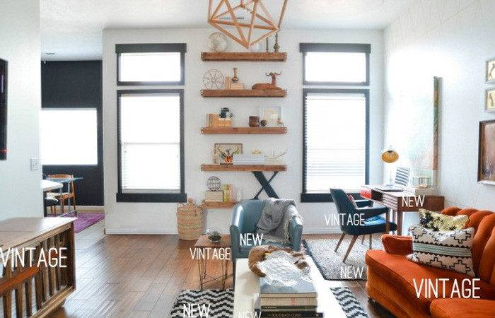 Eclectic Decor Mixing Old Green