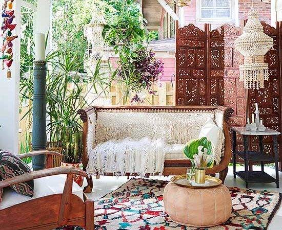 Eclectic Global Vintage Style