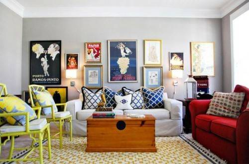Eclectic Living Room Decorating Ideas Home