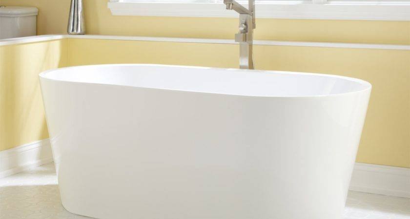 Eden Acrylic Freestanding Tub Bathroom