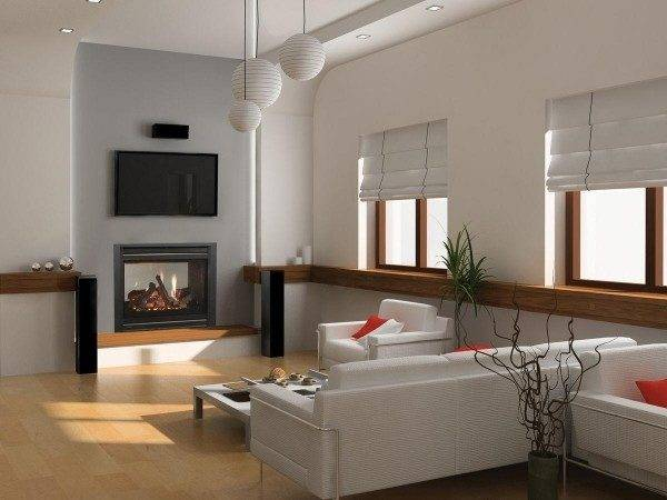 Electric Fireplace Small Living Room Modern House