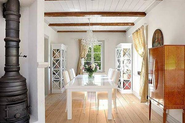 Elegance Scandinavian Country Style Interior Design
