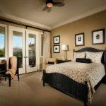 Elegant Brown White Bedroom Decor Home Interior