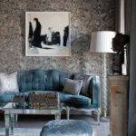 Elegant Chic Living Rooms Damask