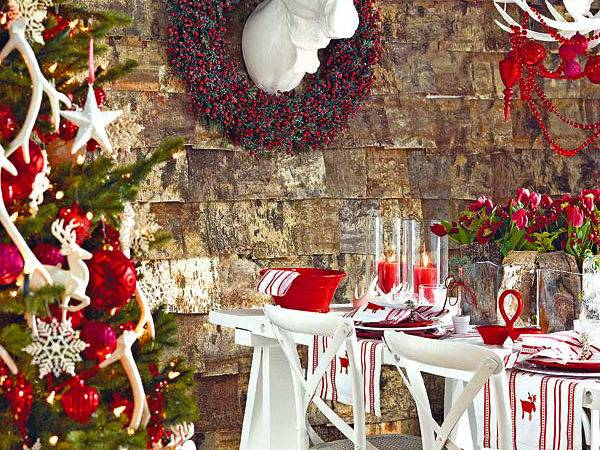 Elegant Christmas Table Decorating Ideas