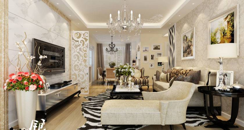 Elegant Style Living Interior Design Ideas