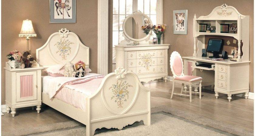 Ellegant Girls White Bedroom Furniture Set Greenvirals