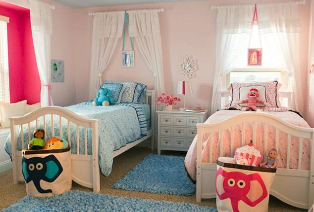 Ellen Dream House Shared Girl Room Designed