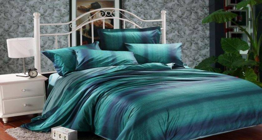 Emerald Green Bedding Teal Lime