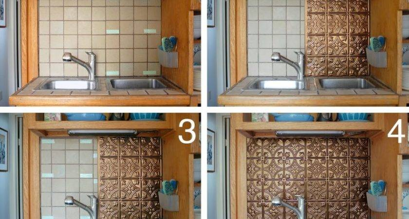 Enchanting Easy Diy Backsplash Kitchen