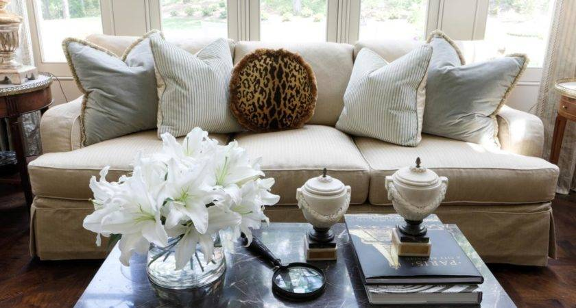 Engaging Decorating Ideas Using Rectangle White Pillows