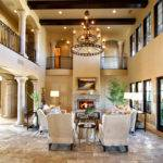 Engaging Home Tuscan Design Interior Taking Royal Bedroom