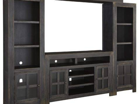 Entertainment Wall Unit Large Stand Bridge