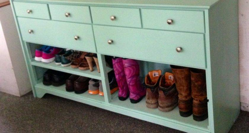 Entryway Table Shoe Storage Yourself