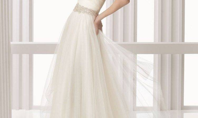 Ethereal Tulle Simple Wedding Dresses Decoration