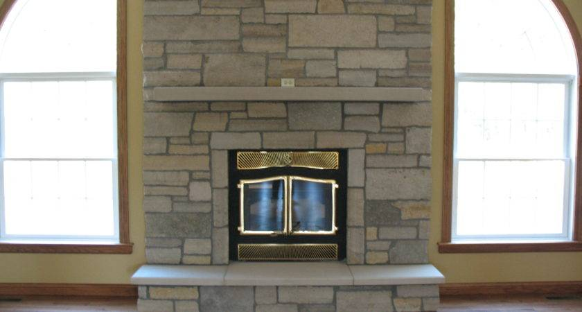Excellent Stone Hearth Fireplace Ideas
