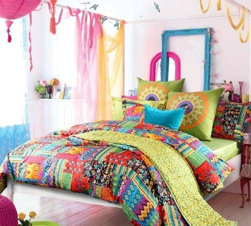 Exotic Colorful Bedding Panda House
