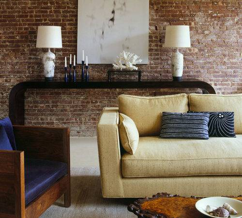 Exposed Brick Plaster Walls Interior Design