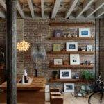 Exposed Brick Wall Decor Mom Spark Blogger