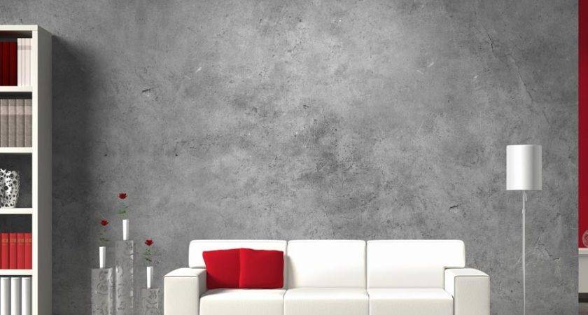 Exposing Cement Wall Design Ideas Attractive Beautiful