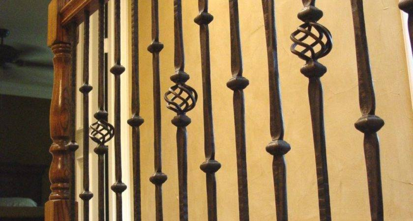 Exterior Wrought Iron Stair Railing Kits